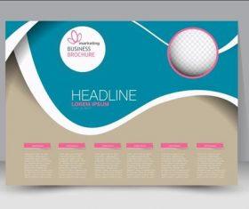 Multipurpose business brochure design vector