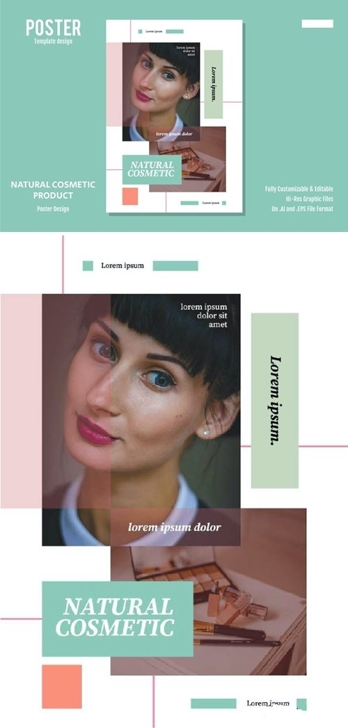 Natural Cosmetic Product vector