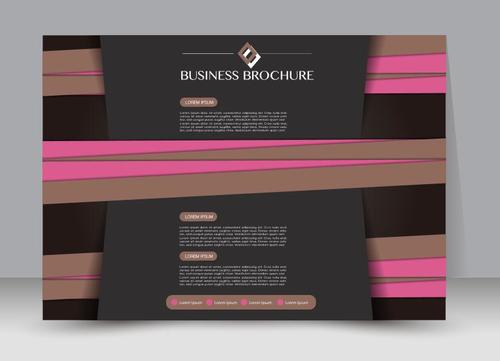 New creative business brochure vector