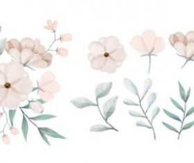Paint with watercolors vector