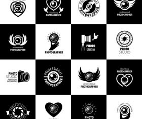 Photographer icon vector