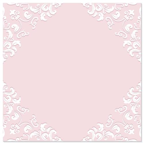 Pink frame background vector