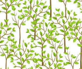 Plant seamless illustration vector