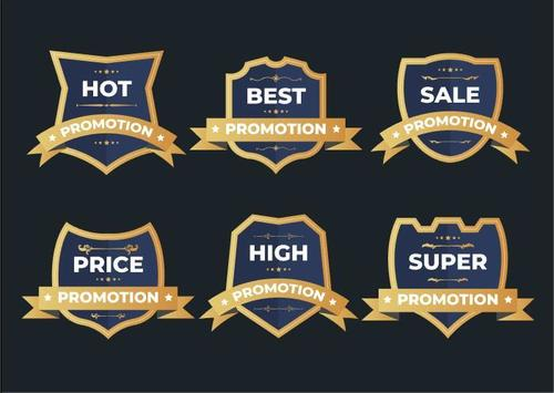 Price promotion label vector
