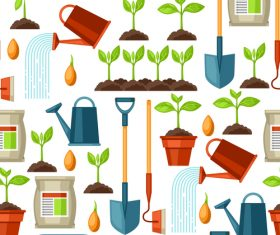 Seedling and tool vector
