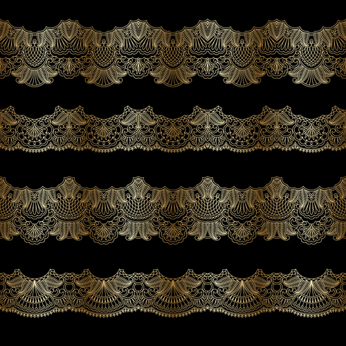 Unique decorative pattern vector