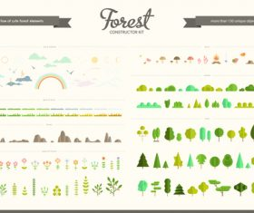 forest constructor vector