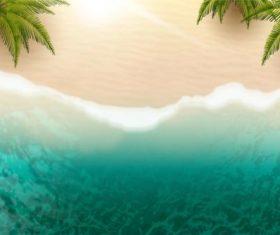 Azure water vector