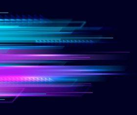 Beam background vector