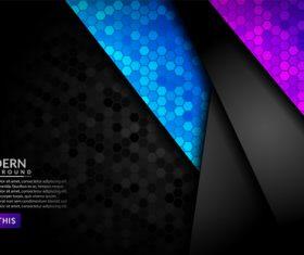 Beautiful modern background vector