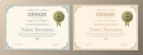 Best product certificate vector