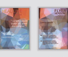 Brochure flyer design layout vector