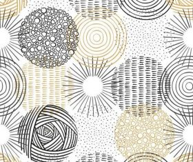 Brown black pattern background vector