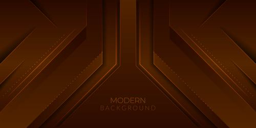 Brown dark background vector