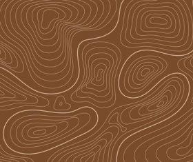 Brown landform graphic background vector