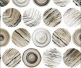 Brown pattern background vector
