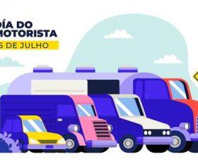 Cartoon illustration car vector