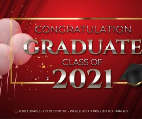 Certificate 3d editable text style effect vector