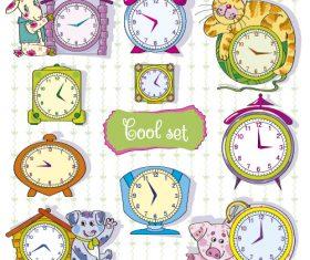 Clock collection vector