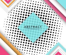 Color card abstract background vector
