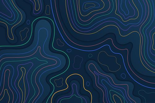 Color map vector concept vector
