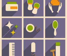 Daily life icon vector