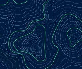 Dark landform graphic background vector