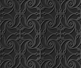 Decoration 3d patterns in vector