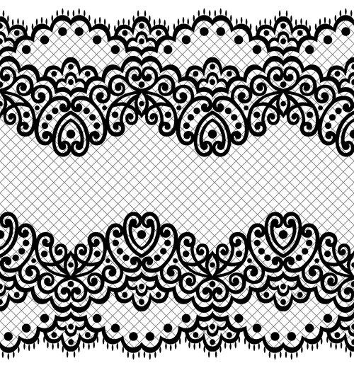 Design flower decorative pattern vector