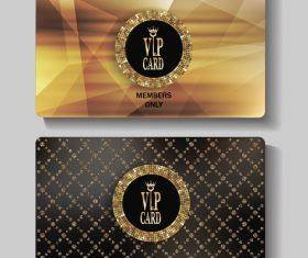 Diamond luxury invitation card vector