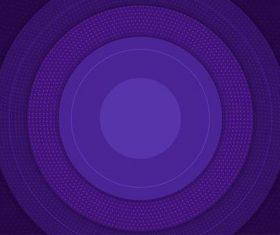 Disc purple gradient background vector