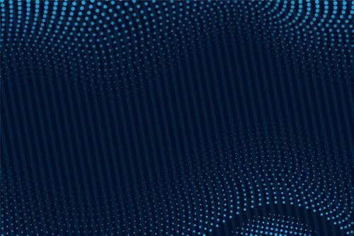 Distorted blue spots background vector
