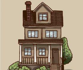Duplex building vector