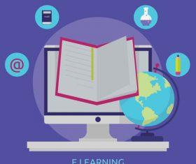 E Learning vector
