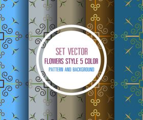 Elegant pattern seamless background vector