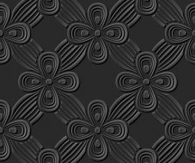 Embossed decorative pattern vector