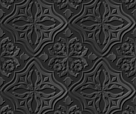 Exquisite decoration 3d patterns in vector