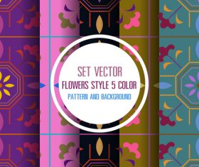 Exquisite seamless background vector