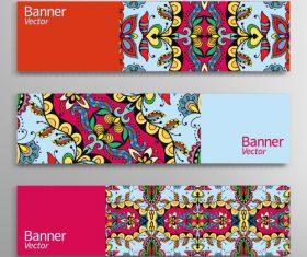 Fashion banner vector
