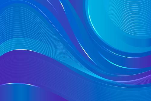 Flowing background vector