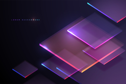 Glass texture background vector