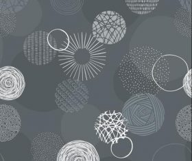 Gray background pattern vector