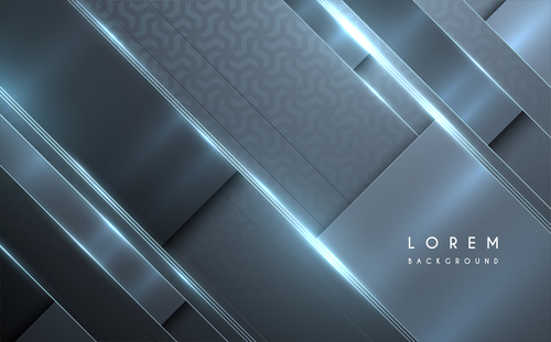 Gray glass texture background vector