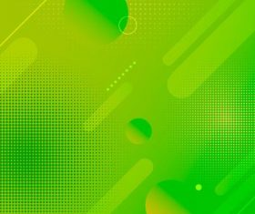 Green gradient abstract background vector