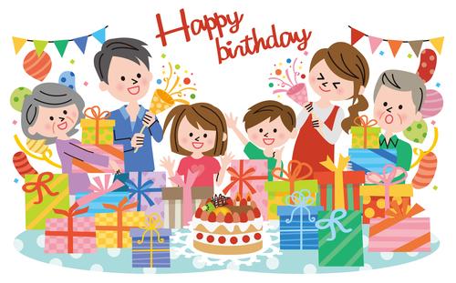 Happy birthday party vector