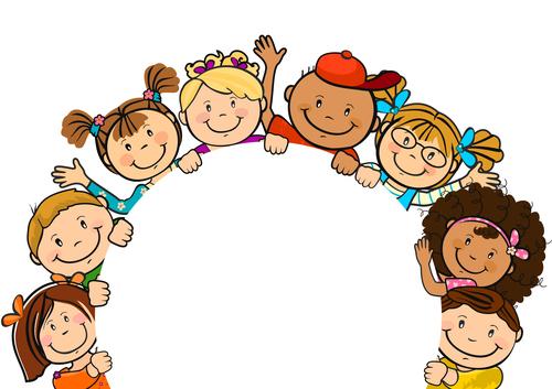 Happy children party vector