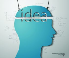 Idea business infographic vector