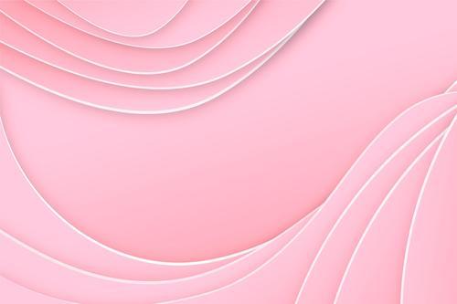 Light pink wave background vector