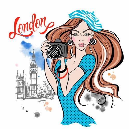 London travel vector