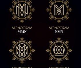 NMN monograms in vector
